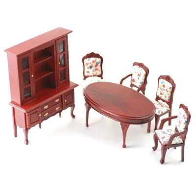 Dolls house furniture, dining set